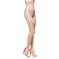 Spanx - Natural 'Super shaping' 20D sheer tights