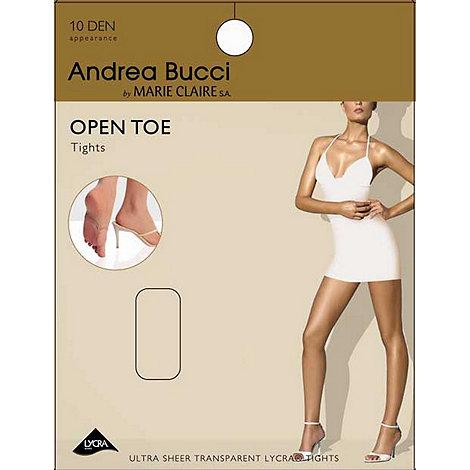 Andrea Bucci - Natural 8D ultra sheer open toe tights