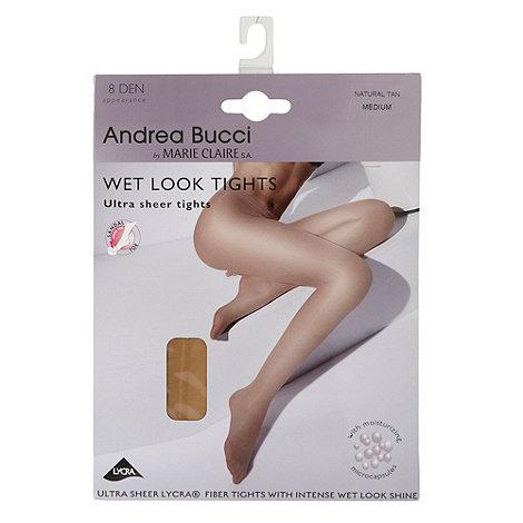 Andrea Bucci - Light tan 8D brilliant liquid shine tights