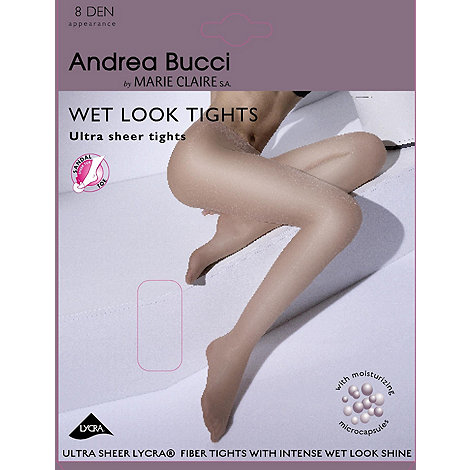 Andrea Bucci - Natural 8D brilliant liquid shine tights