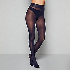 J by Jasper Conran - Navy 60 Denier opaque tights
