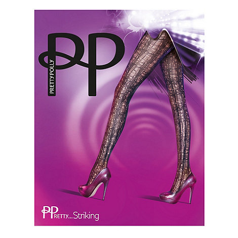 Pretty Polly - Black +Pretty Striking+ pattern tights