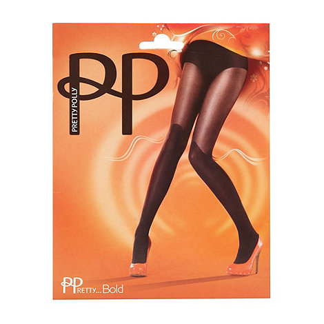 Pretty Polly - Black 20D knee high sock tights