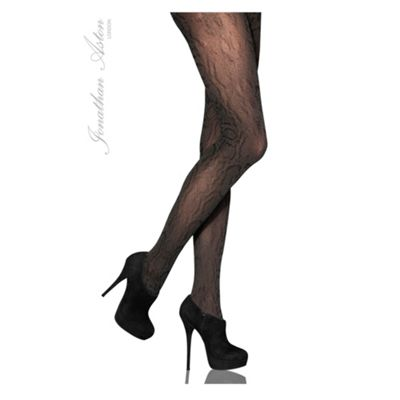 Black Fame sheer fashion tights