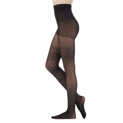 Debenham Black oft and mooth 30D opaque tight - . -