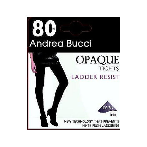 Andrea Bucci - Black 80D opaque ladder resistant tights