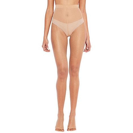 Debenhams - Cream 7 denier footless tights
