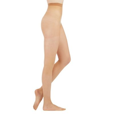 Natural 7 denier moisturising shaper tights