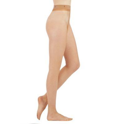 Designer natural 10 denier matt tights