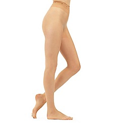 J by Jasper Conran - Natural sheer 7D non-slip sole tights