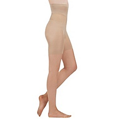 Aristoc - Cream 10 denier sheer support tights