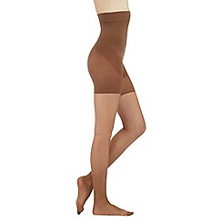 Debenhams - Nude firm control high waist shaping 10 Denier tights