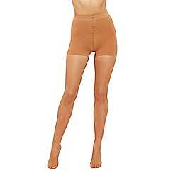 Debenhams - Nude 10 denier firm control highwaisted tights