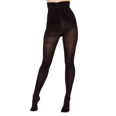 Black firm control high waist shaping tight