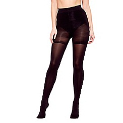 Debenhams - Black firm control tum, bum and thigh shaping tight