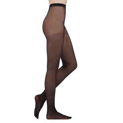 Black opaque 40D tights
