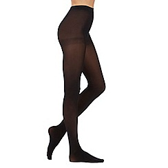 Pretty Polly - Pack of two black 60 Denier opaque tights