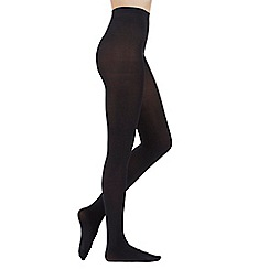 Pretty Polly - Black 80 denier 3D opaque tights