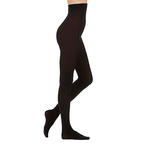 Pretty Polly - Black 100 Denier opaque tights