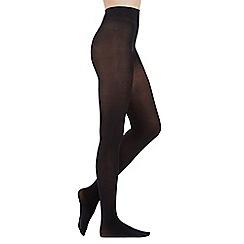 Pretty Polly - Black 80 Denier plush opaque tights