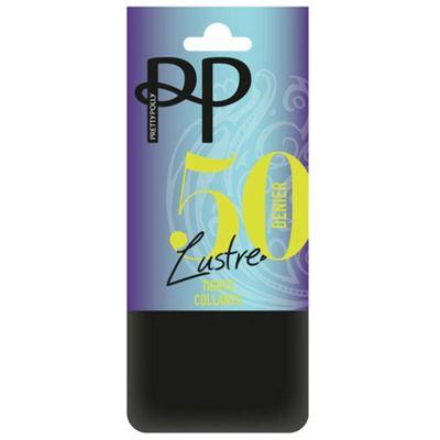 Black 50 Denier lustre opaque tights