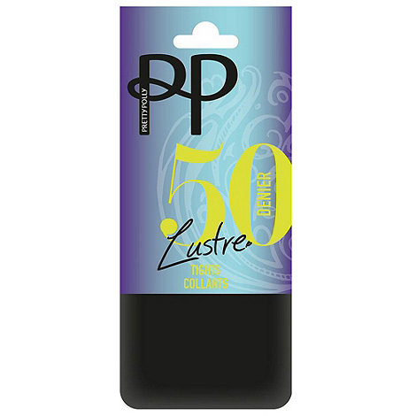 Pretty Polly - Black 50 Denier lustre opaque tights