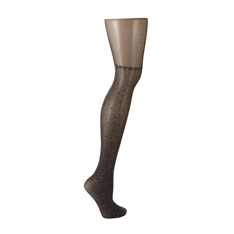 Andrea Bucci - Black metallic fashion tights