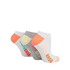 Converse - Pack of three assorted trainer socks