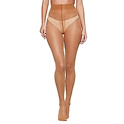 J by Jasper Conran - Nude 10 Denier sheer tights