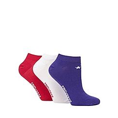 Converse - Pack of three trainer socks