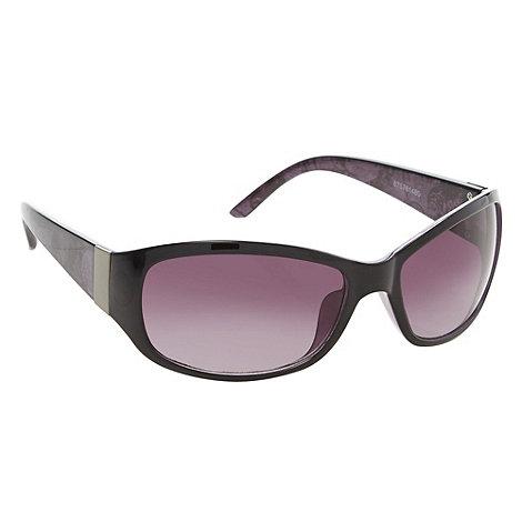 Beach Collection - Black lace arm sunglasses