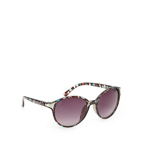Red Herring - Blue camo round sunglasses
