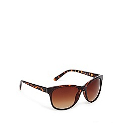 Red Herring - Brown tortoiseshell square plastic sunglasses