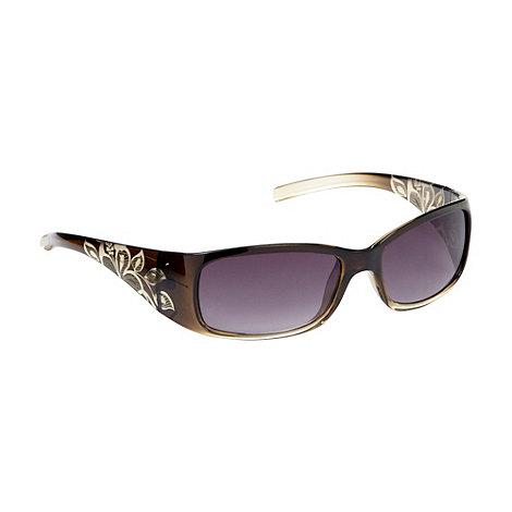 Mantaray - Khaki rectangle graduating sunglasses