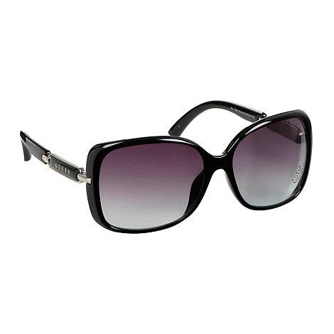 Guess - Diamante square sunglasses