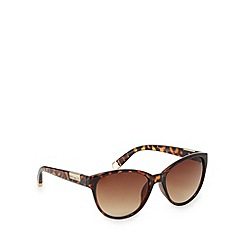Principles by Ben de Lisi - Designer brown tortoise shell tipped sunglasses