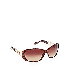 Principles by Ben de Lisi - Designer brown tortoise shell frame sunglasses