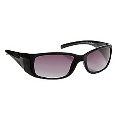 Bloc - Black metal T-bar temple sunglasses