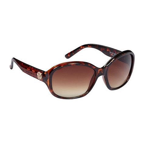 Principles by Ben de Lisi - Designer brown plastic tortoiseshell sunglasses