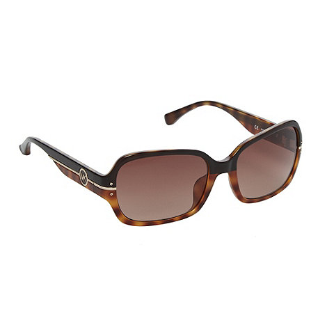 Michael Kors - Light brown tortoiseshell square sunglasses