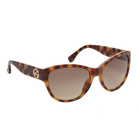 Michael Kors - Brown tortoiseshell cat eye sunglasses