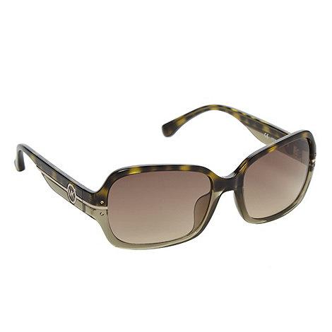 Michael Kors - Olive tortoiseshell square sunglasses