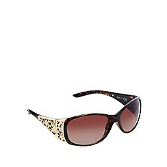Beach Collection - Brown tortoiseshell filagree sunglasses