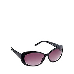 Beach Collection - Black tortoiseshell cat eye sunglasses