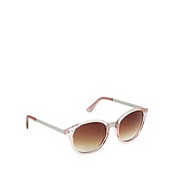 Jeepers Peepers - Pink retro inspired round sunglasses