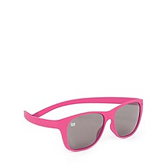 ICE - Pink 'Pulse 108' silicone memory frame sunglasses