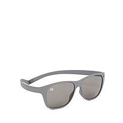 ICE - Grey 'Pulse 110' silicone memory frame sunglasses