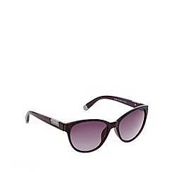 Principles by Ben de Lisi - Designer purple tortoiseshell tipped sunglasses