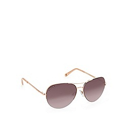 Lipsy - Gold classic aviator sunglasses