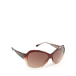 Guess - Dark red antique arm sunglasses